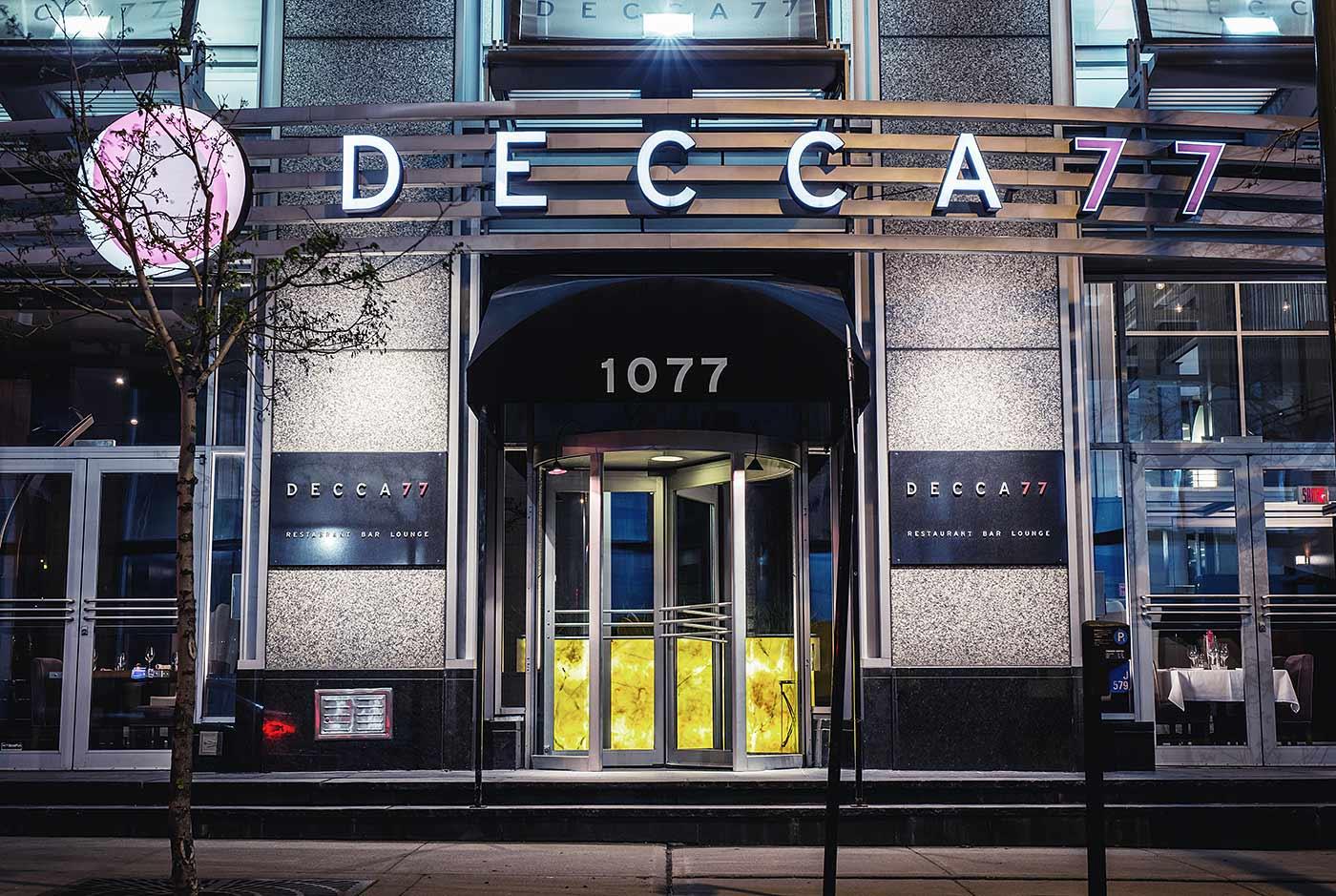 Decca 77 Facade
